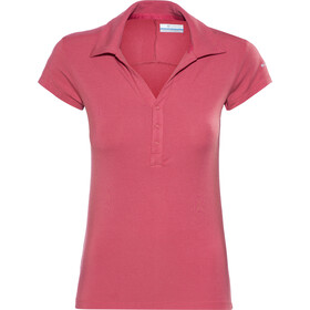 Columbia Pacific Polo Femme, sunset red